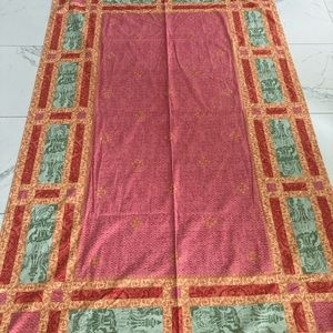 BEAUVILLE tablecloth France cotton luxury HUGE !